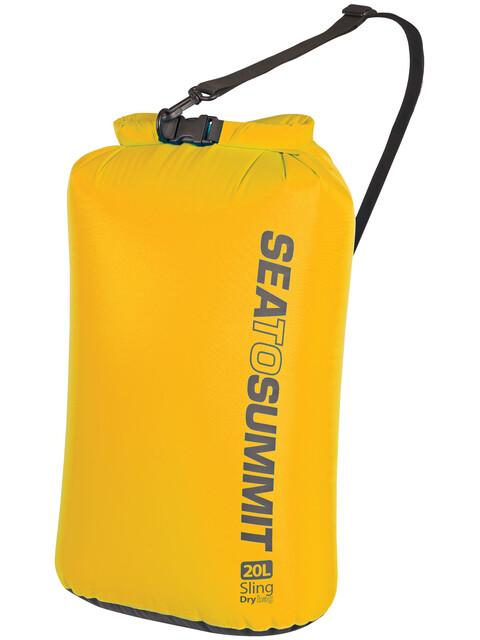 Sea to Summit Lightweight Sling Bagage ordening 20l geel